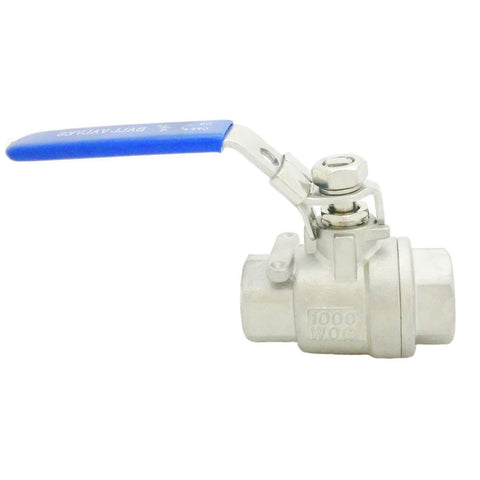 2 PC Ball Valves (1000PSI)