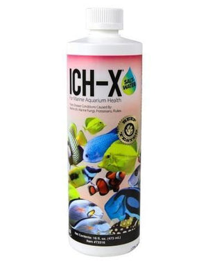 Fish Ich Medication - Hikari Ich-X Water Treatment (Saltwater)