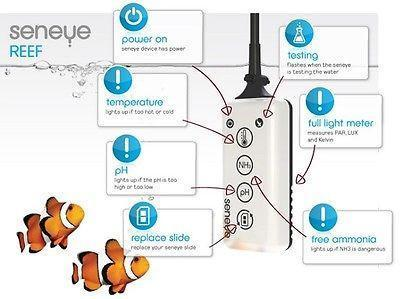Meters & Controllers - Seneye Water Parameters Reef Monitor