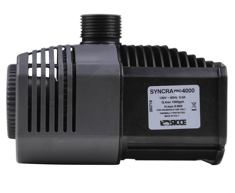 Pumps And Wavewakers - Sicce Syncra Pro Silent Efficiency (1000 GPH)