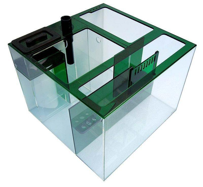 Refugiums And Sumps - Trigger Systems Emerald Green Cube 20""