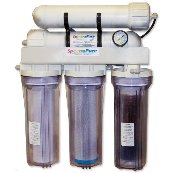 RO/DI Unit - SpectraPure MaxPure 180 GPD Ultra High Purity Reverse Osmosis RO System