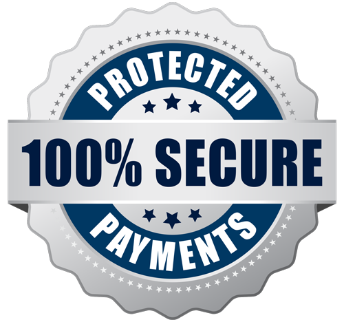 100% secure payments shopify