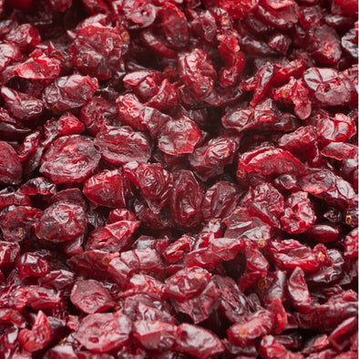 CRANBERRIES DRIED Sweetened sliced Premium Sulphate Free GF - BULK 11.34kg, 5kg, 2.5kg