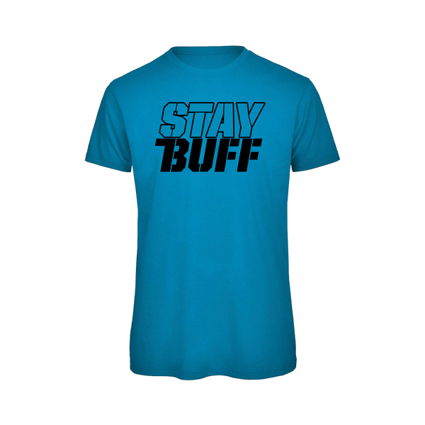 STAY BUFF #DANUTRITION GYM T - SPACE BLUE