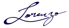 Lorenzo signature for important document