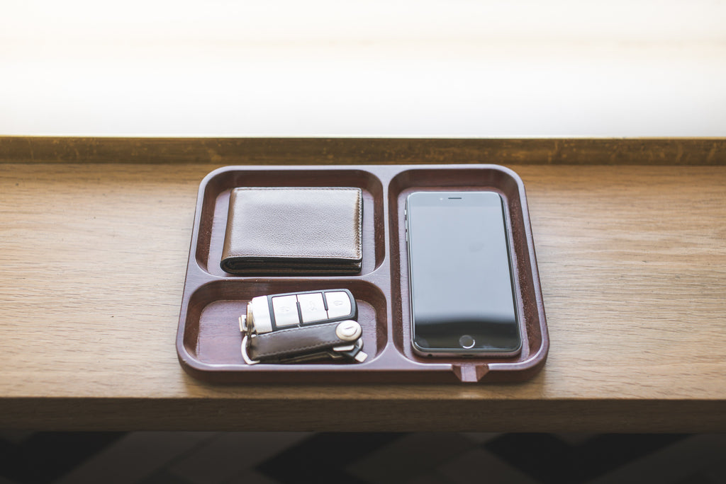 Wooden Valet Tray