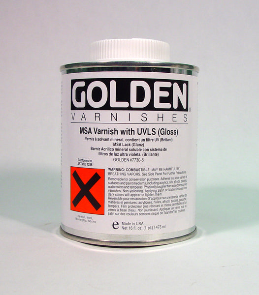 Golden MSA Varnish Matte (W/UVLS) Available In Store ONLY