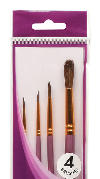 Mont Marte Gallery Series Watercolour Brush Set 4