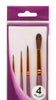 Mont Marte Gallery Series Brush Set 4