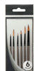 Mont Marte Acrylic Gallery Series Brush Set 6pce