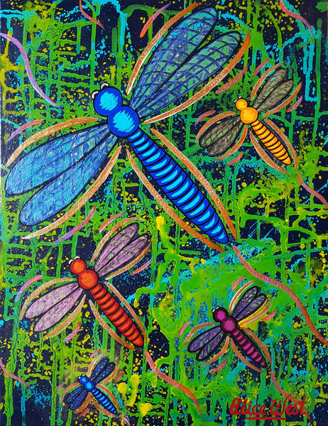 Zippy Dragonflies 4