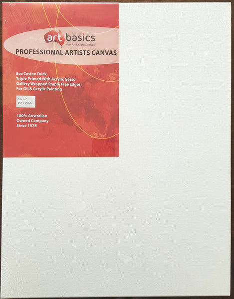 Art Basics Professional Artist Canvas (18 x 14In) 45.7cm x 35.6cm