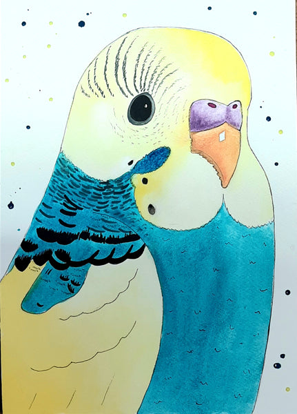 Rainbow Budgie Kids Holiday Art Workshop - Wednesday 8th July 2020