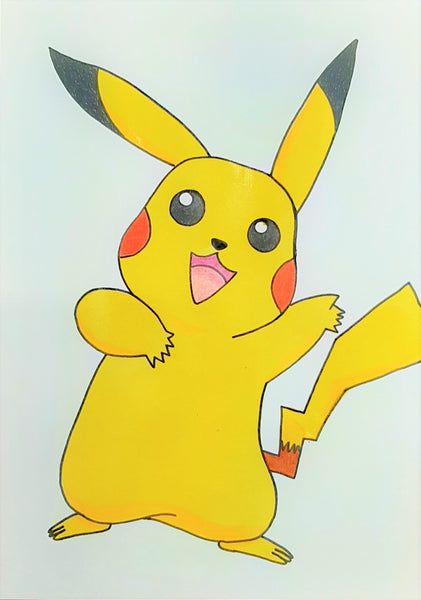 Learn To Draw Pikachu Kids Holiday Art Workshop - Monday 28th September 2020