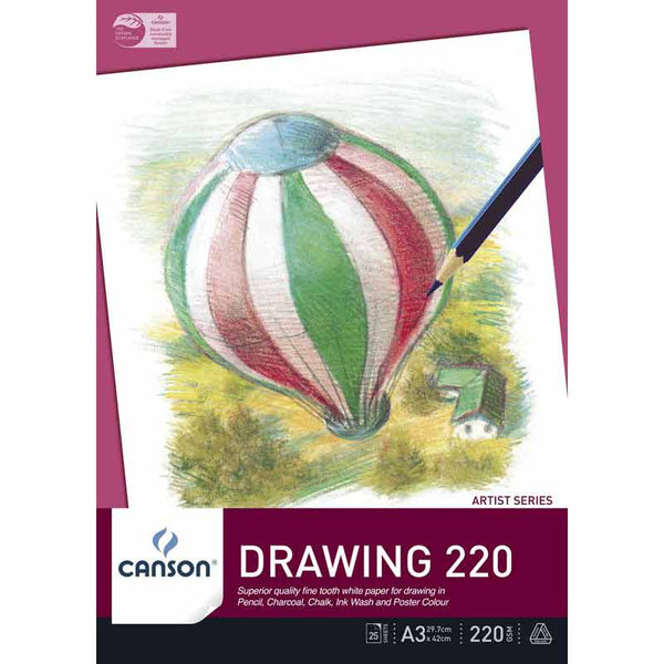 Canson Drawing Pad 220gsm Artist Series