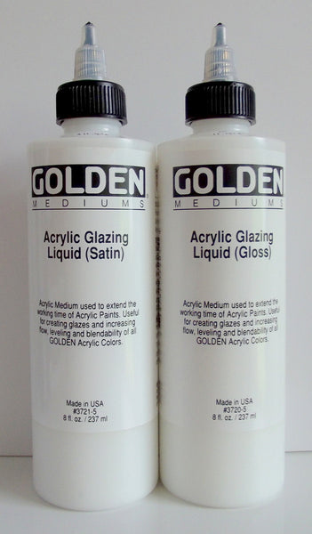 Golden Acrylic Glazing Liquid (Satin) 3721