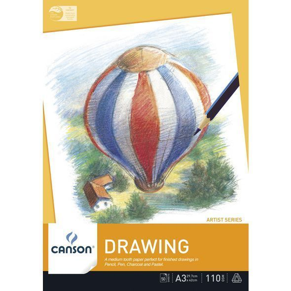Canson Drawing Pad 110gsm Artist Series