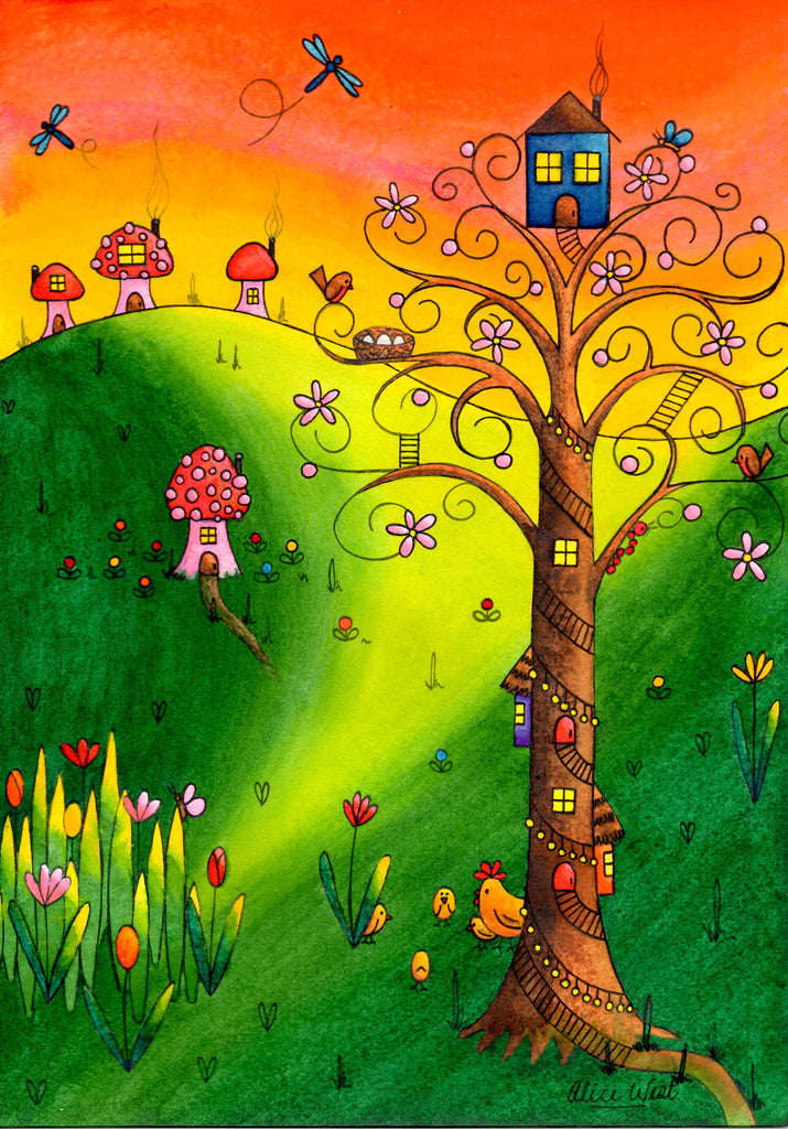 The Pink Blossom Tree $249