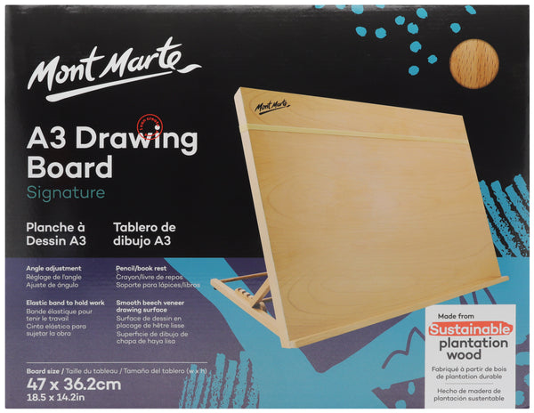 Mont Marte Drawing Board A3