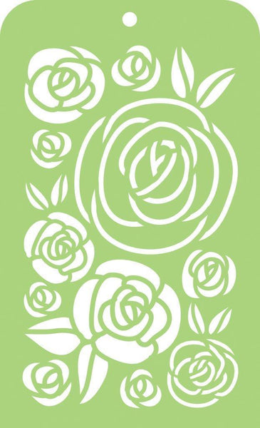 Kaisercraft Mini Designer Template - Roses IT045
