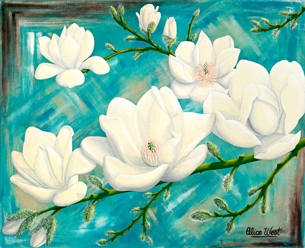 Magnolias - Limited Edition Print - 1 of 50