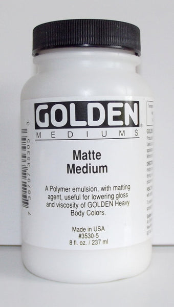 Golden Matte Medium 3530