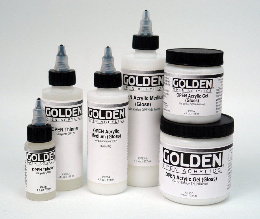 Golden Open Acrylic Medium (Gloss) 3725