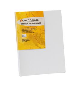 Premium Art Basics  Artist Canvas (16 x 20 In) 40.6cm x 50.8cm x 4cm