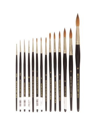 REKAB 310 Pure Sable Brushes