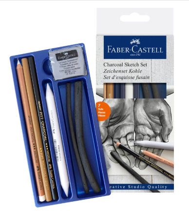 Faber-Castell  Charcoal Sketch - Set 7