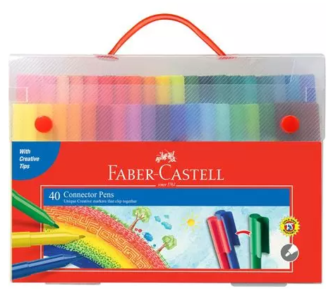 Faber-Castell Connector Pens 40 Pack