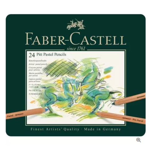 Faber-Castell Pitt Pastel pencil, tin of 24