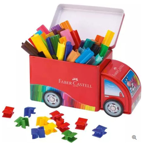 Faber-Castell Connector Pen Truck Assorted Box 43