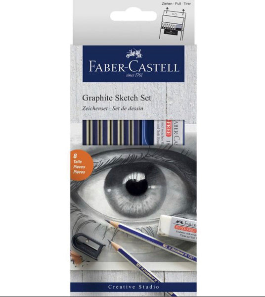 Faber-Castell Graphite Sketch Set 8