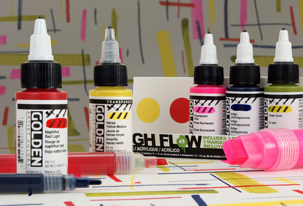 Golden Professional High Flow Acrylic Marker Set - 959