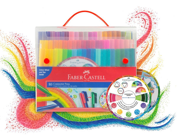 Faber-Castell Connector Pens 80 Pack