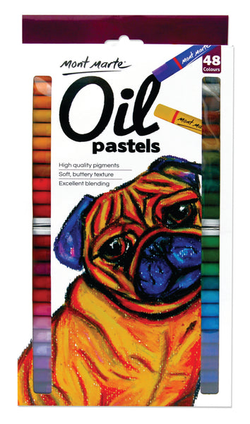 Monte Marte Oil Pastels Set 48