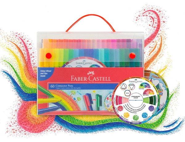 Faber-Castell Connector Pens 60 Pack