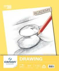 Canson Drawing Spiral Pad 110gsm Academy Series