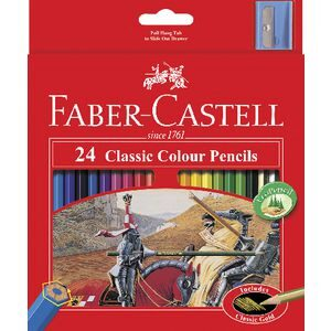 Faber-Castell Classic Colour Pencil Set 24