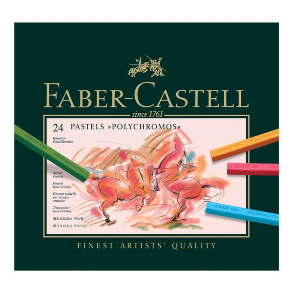 Faber-Castell Polychromos Pastel Box 24