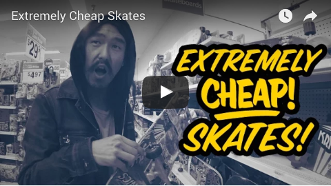 Don't be a cheap skate!