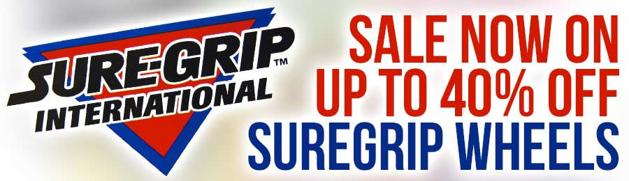 Suregrip Wheel Sale - Up to 40% off!