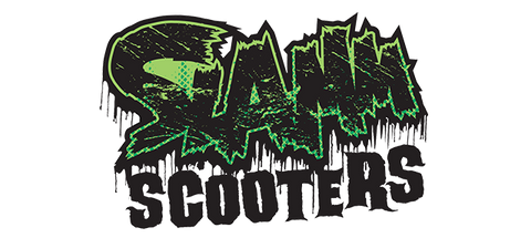 Image result for slamm scooters logo