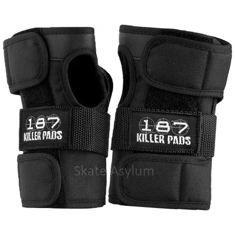 187 Pro Wrist Guards - Black