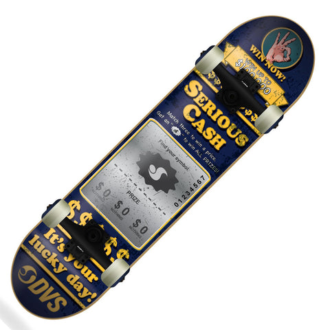 "DVS Serious Cash 7.75"" Complete Skateboard"