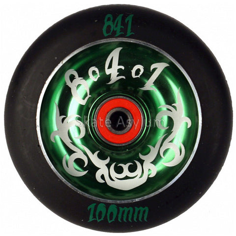 841 Tribal 100mm Scooter Wheel - Green