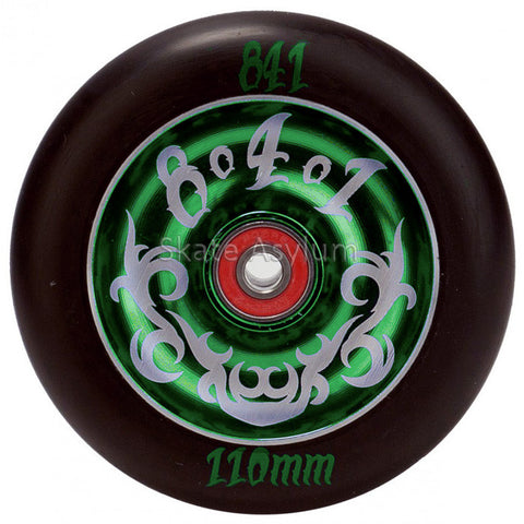 841 Tribal 110mm Scooter Wheel - Green
