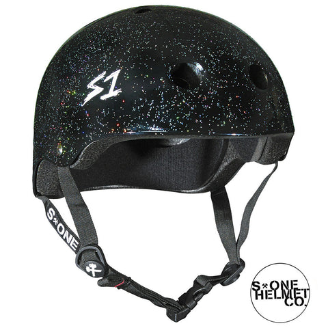 S1 Lifer Helmet Black Gloss Glitter